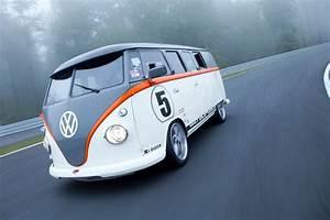 Porsche-Powered Volkswagen Bus 'Race Taxi' Debuts At