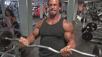 Bill McAleenan 55 Year Old Bodybuilder Bicep Workout - YouTube