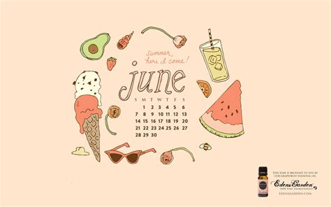 Desktop Wallpapers Calendar June 2016 - Wallpaper Cave