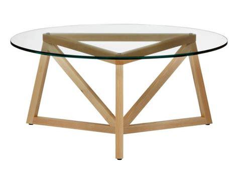 Gemma 32 round mango wood coffee table by kosas home by kosas (16) $548$930. Round Glass Coffee Table With Wood Base | HGTV