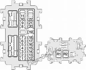 Fuse Box Diagram Nissan Altima  L31  2002