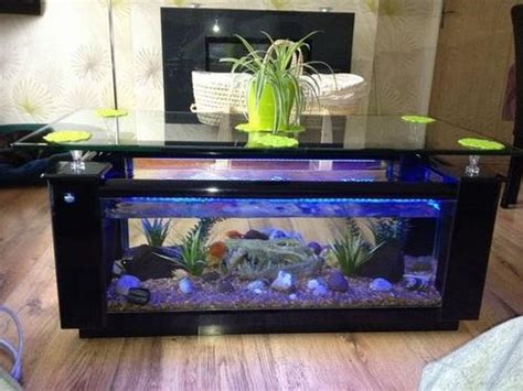 Cool Ideas For Fish Tank Coffee Table  Social Dynamics