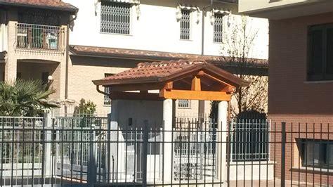 piccole tettoie in legno tettoie berso e gazebo in legno brianza lecco varese