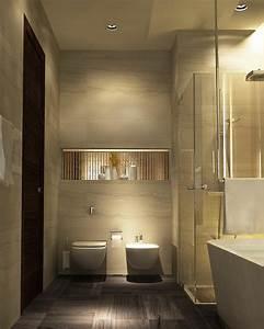 beaucoup d39idees en photos pour une salle de bain beige With salle de bain grise et beige