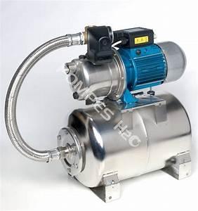 Pompe Avec Surpresseur : surpresseur 12 ou 24 volts avec pompe jet inox t servoir ~ Premium-room.com Idées de Décoration