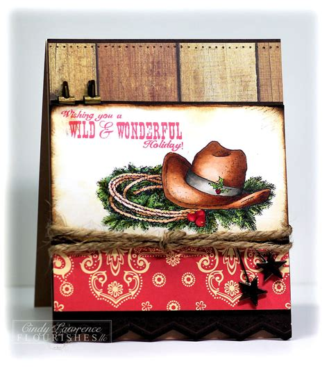 Delight all with christmas cards from zazzle! Western Themed Card | Cowboy christmas cards, Western christmas cards, Christmas card art