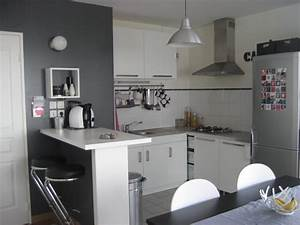 affordable changement cuisine with peinture grise cuisine With awesome quelle couleur pour un couloir 18 cuisine peinte en beige
