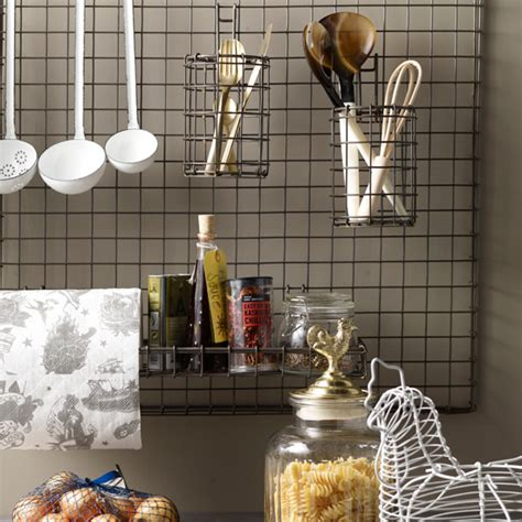 kitchen wall organization kitchen utensil storage kitchen idea ideal home 3455