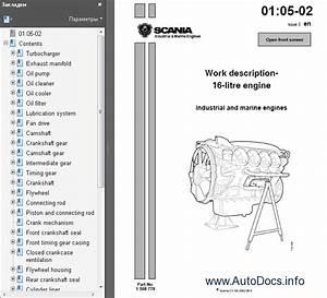 Scania D12    D16 Engine Wokshop Service Manual Repair