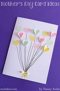 Handmade Mother's Day Cards | Nanny Anita | My Baba