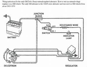 Chevy One Wire Alternator Diagram  U2013 Davestevensoncpa Com