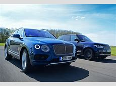 Bentley Bentayga vs Range Rover Auto Express