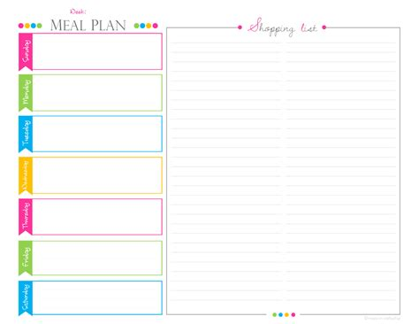 Weekly Meal Planningshopping List Pdf Planner Landscape Business Proposal Best Definition Attire Russia In France China Plan Sample Retail Store App Egypt
