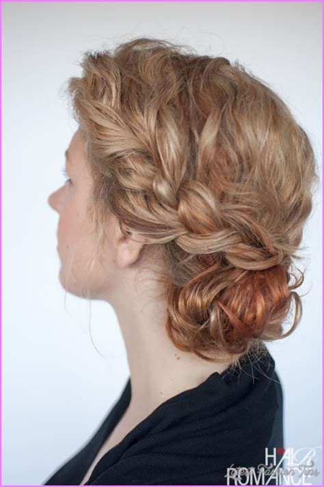 Hairstyles With Braids For by Curly Hairstyles And Braids Latestfashiontips