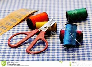 Tools for tailoring stock photo. Image of scissor, repair ...