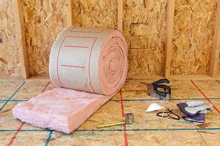 what type of insulation to use in garage of insulation types doityourself