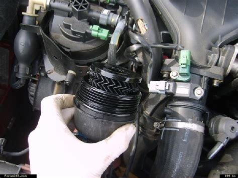 peugeot 307 voir le sujet vidange remplacement filtre 224 huile dw10bted4 2 0l hdi 136