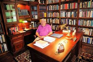 At, Home, Retired, Washburn, Professor, Creates, Home, Office, -, News