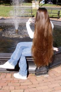Very Long Healthy Hair