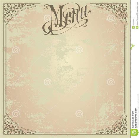 menu design template royalty  stock images image