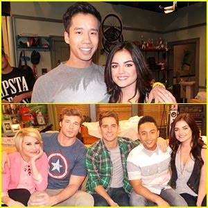 Lucy Hale: 'Baby Daddy' Set Pics! (Exclusive) | Baby Daddy ...