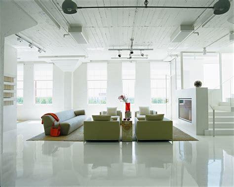 stunning minimalist flooring loft blanc san antonio