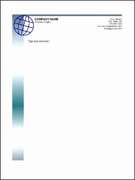 company letterhead editable template sampletemplatess