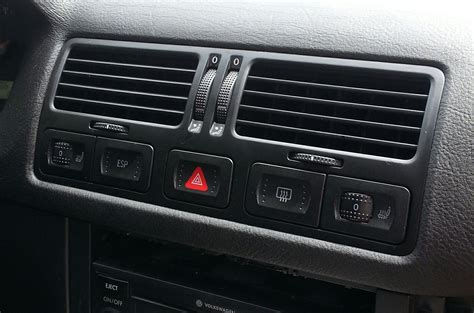 luxury car air vents smell musty  air vent