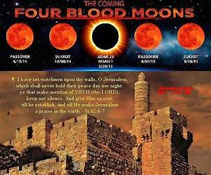 Blood moons… Signs in the heavens! | natsab