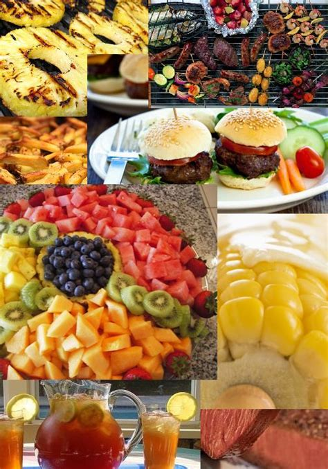 food for barbecue backyard bbq wedding food party ideas pinterest