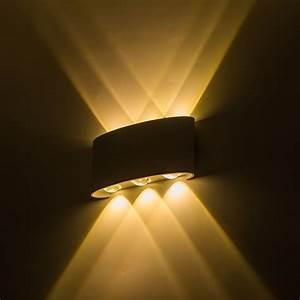 Up Down Led Wall Lamp Waterproof Ip65 Wall Light Led 6w