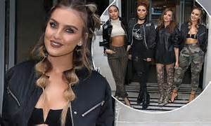 Perrie Edwards joins her Little Mix band-mates at BBC ...