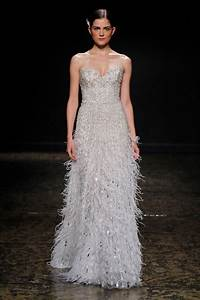 16 covetable bridal gowns from lazaro spring 2014 onewed With lazaro wedding dresses