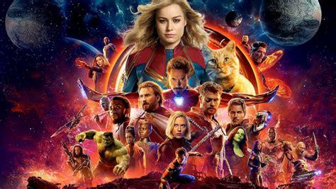captain marvels credits scenes tie  avengers