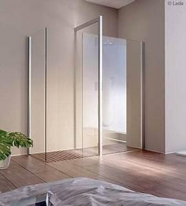 Photos de douches en verre douches et baignoirescom for Longueur douche italienne sans porte