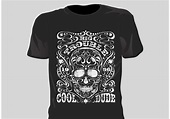 Free Vector Grunge T Shirt Design - Download Free Vector Art, Stock Graphics & Images
