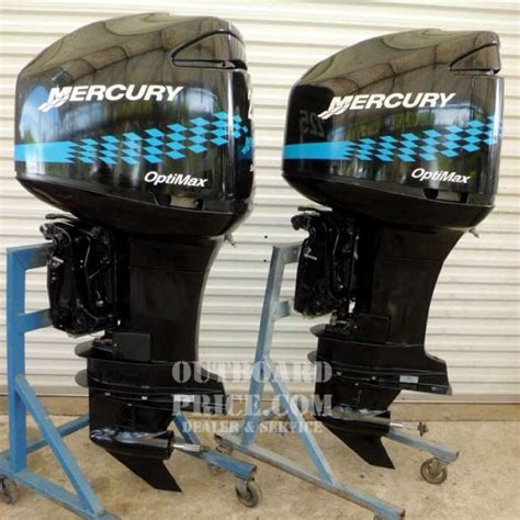 Mercury Outboard Motor Alarms by Pair Mercury Optimax Saltwater 225 Hp 2 Stroke Outboard