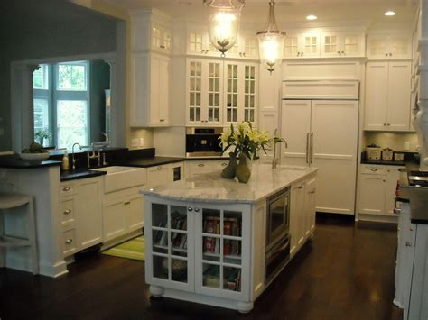 Kitchen Cabinets With Glasses by Glass Kitchen Cabinet Doors Kitchen Modern With