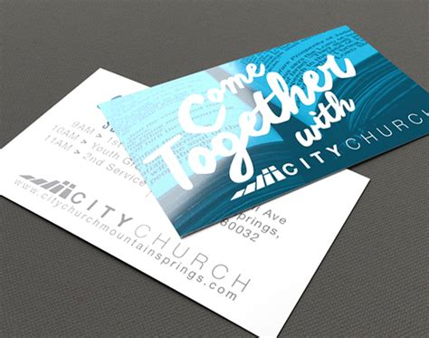 church invite card printing  cardstock options printplace