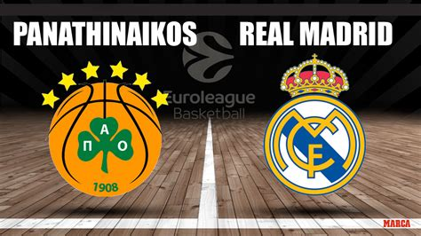 Euroliga 2020: Panathinaikos - Real Madrid: horario y ...
