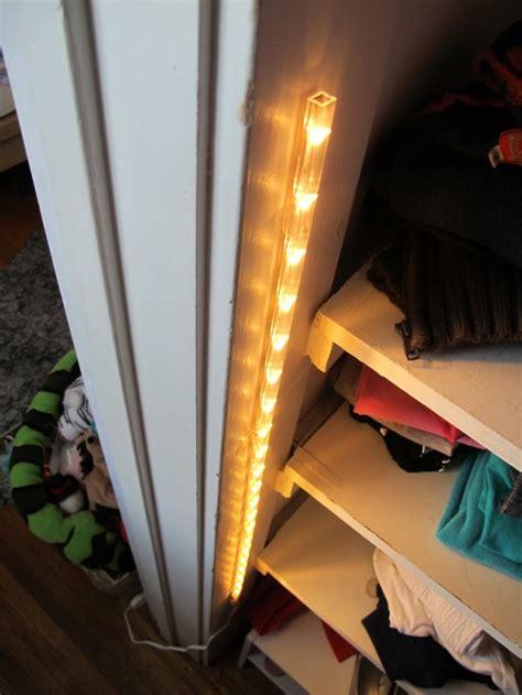 Ikea Wardrobe Lighting by A 15 Closet Lighting Solution Merrypad