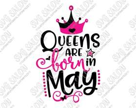 are born in may birthday svg cut file set for 39 s shirts