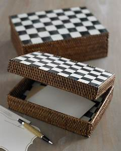 MacKenzie-Childs Courtly Check Desk Accessories