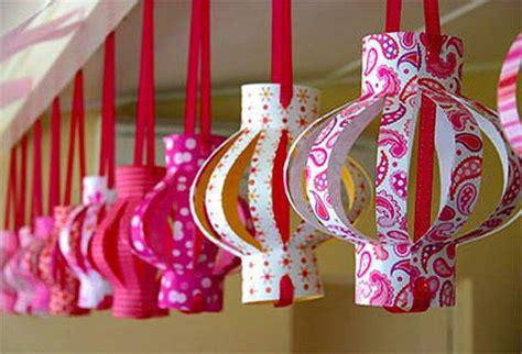 paper crafts chinese lanterns  good feng shui