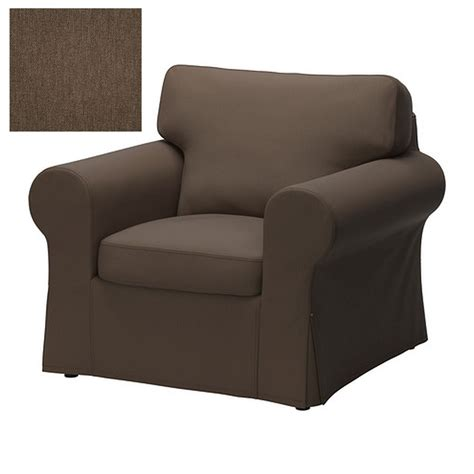 Cover Armchair by Ikea Ektorp Armchair Cover Chair Slipcover Jonsboda Brown