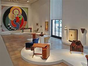 La salle art déco (Musée d'art moderne de la ville de Pari ...