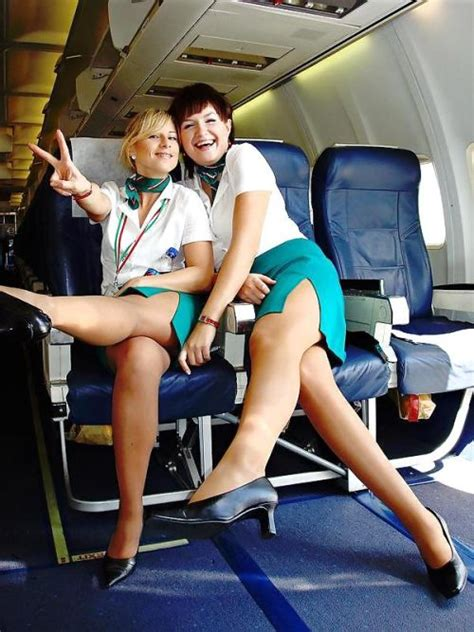 female flight attendants  fun damn cool pictures