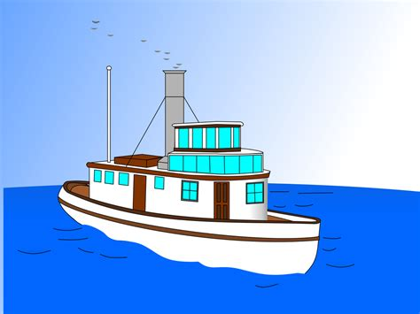 Tugboat Cartoon Name by Tugboat Ship Yacht Animated Cartoon Naval Architecture