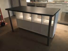 Kitchen Islands With Legs Ilot De Cuisine Style Ikea Pas Cher Bidouilles Ikea