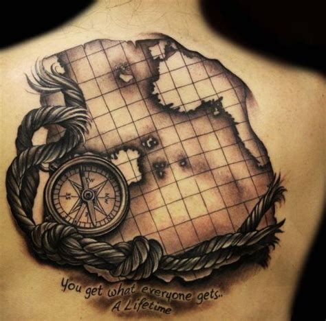 Compass Tattoo Map  Google Search  Jim's Tattoo Idea